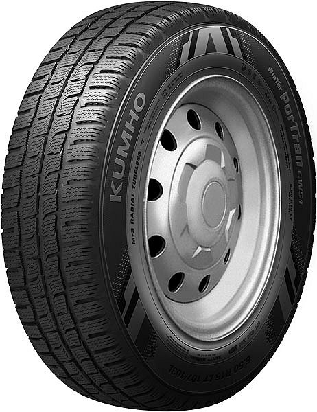 Kumho CW51 Winter PorTran 195 R14C 106Q